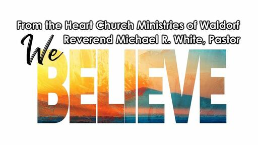 We Believe in the Word of God - Test