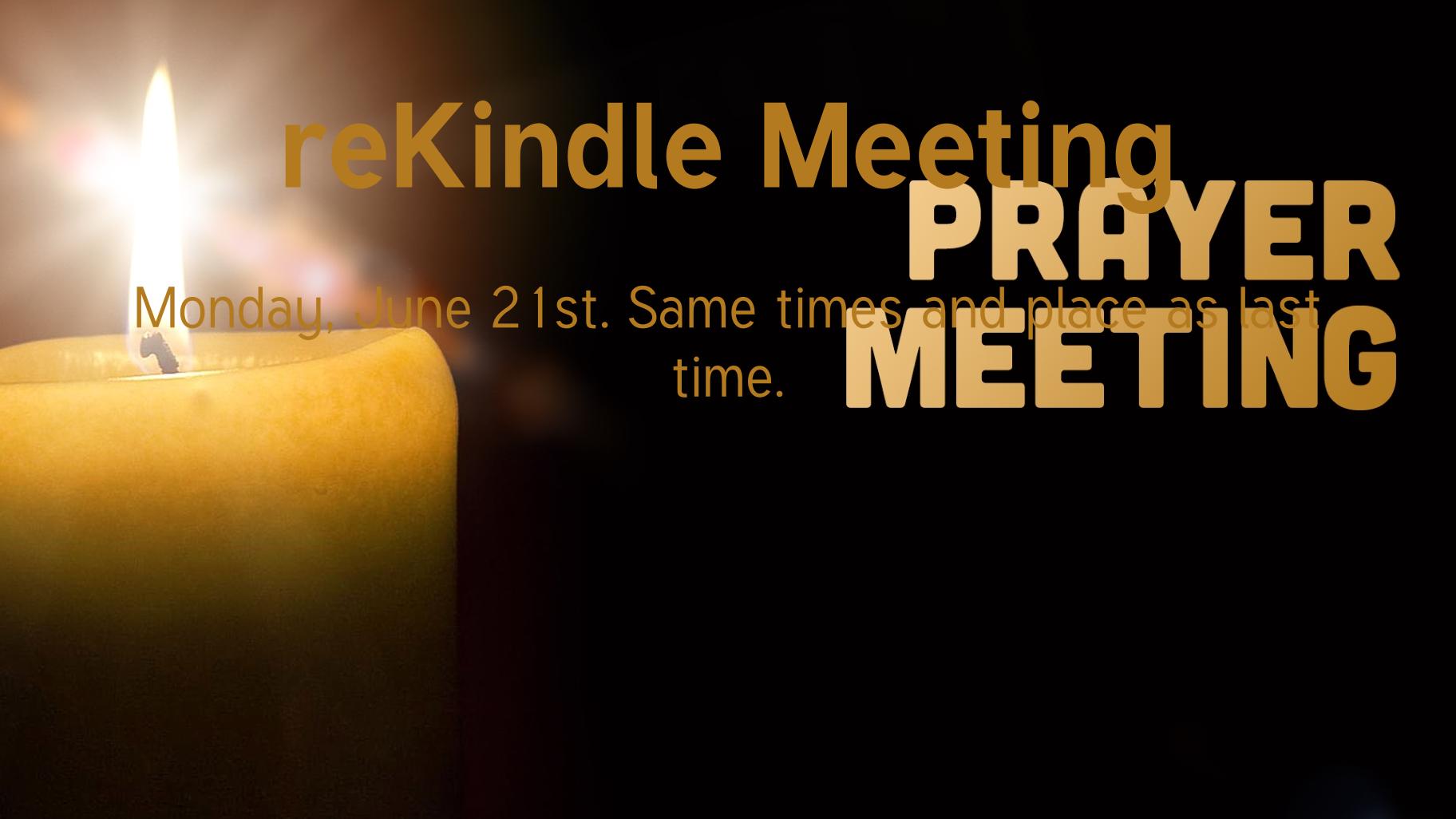 reKindle Meeting