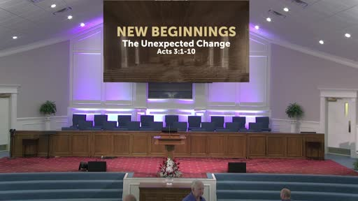 New Beginnings: The Unexpected Change- 5-23-21