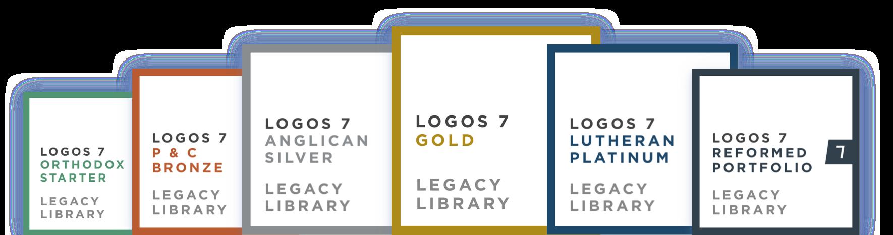 Logos 7 Legacy Libraries