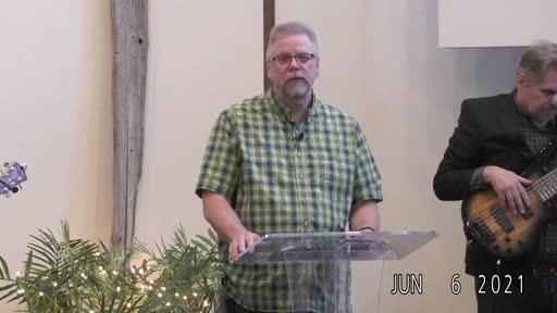 Peninsula Baptist Gig Harbor, 6/06 I AM the Resurrection and THE Life