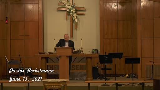 June 13 - BIBLE STUDY