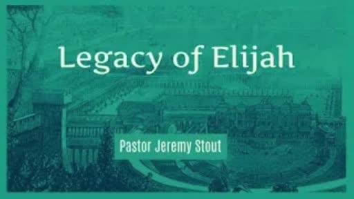 Legacy Of Elijah - 2 Kings 9:30-36