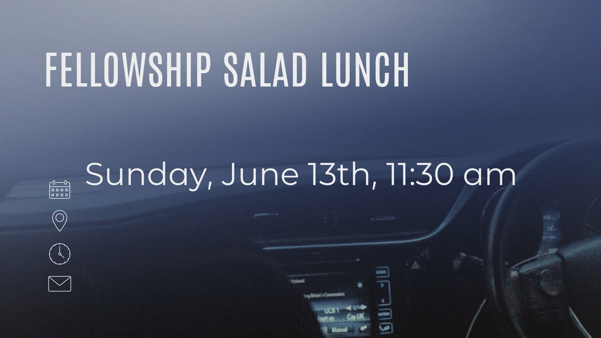 Fellowship Salad Lunch
