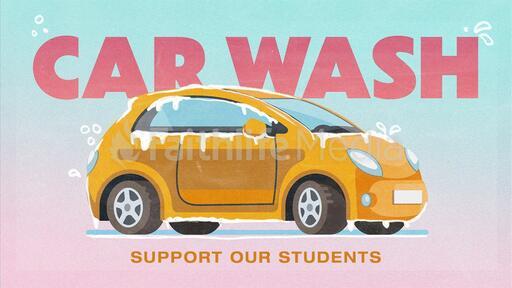 Car Wash Yellow