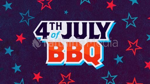 4th of July BBQ Star