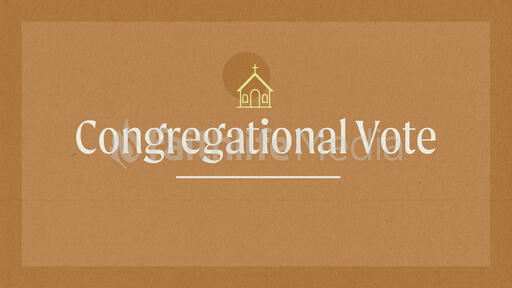 Congregational Vote