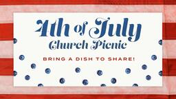 4th of July Flag Berry  PowerPoint image 1