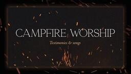Campfire Worship Flames  PowerPoint image 1