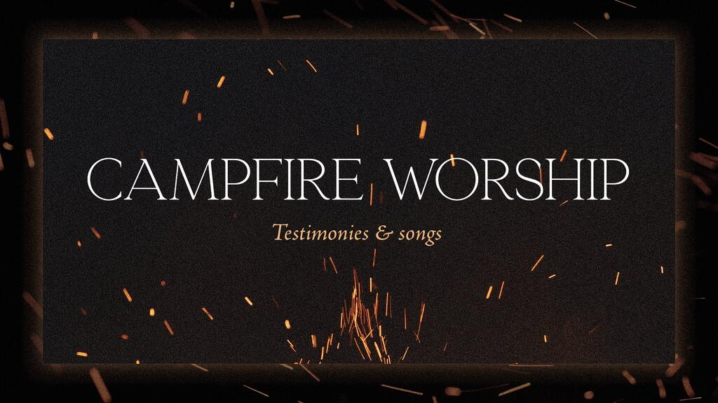 Campfire Worship Flames large preview