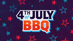 4th of July BBQ Star  PowerPoint image 1