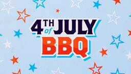 4th of July BBQ Star  PowerPoint image 3