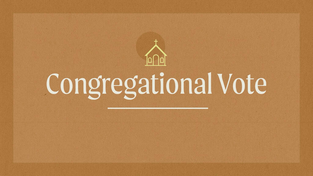 Congregational Vote large preview