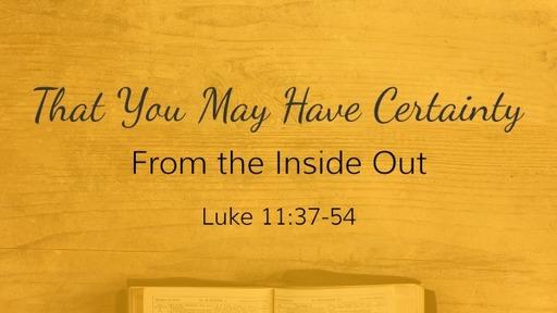 Luke 11: 37-54