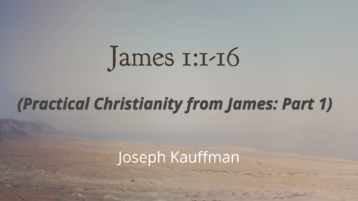 Practical Christianity from James
