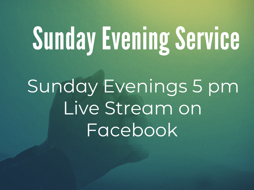Sunday Evening Worship - Livestream