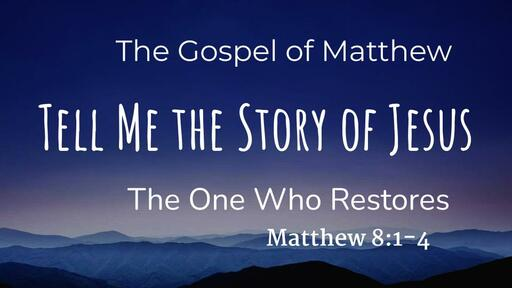 The One Who Restores