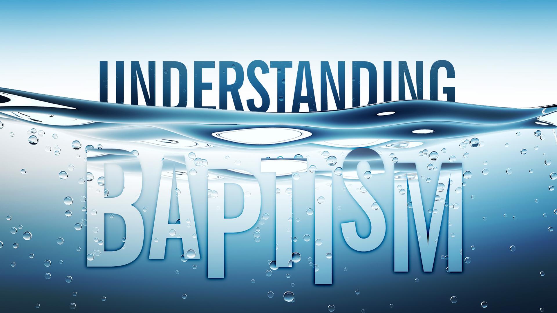 Baptism Faithlife Sermons