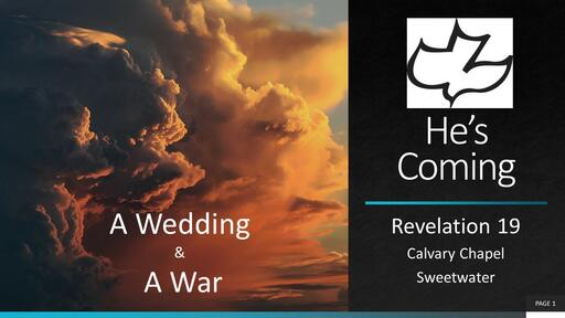 A Wedding & A War