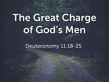 Deuteronomy 11:18-25