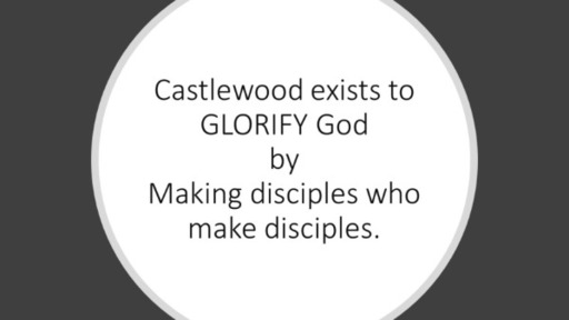 Core Value: WORSHIP is what disciples are made for.