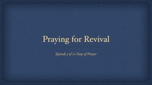 21 Days of Prayer for Revival