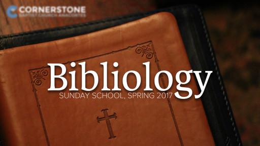 Basic Bible Study Tools