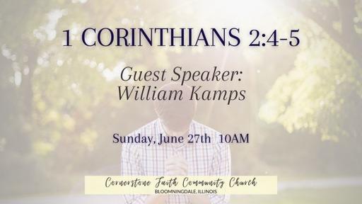 June 27, 2021 - William & Lane Kamps