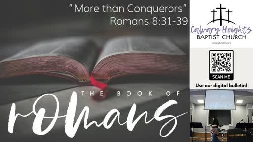 """""""More than Conquerors"""""""