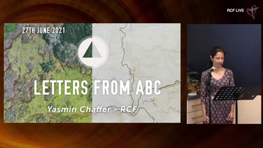 RCF 270621 - Teaching Service - Yasmin Chaffer - Letters ABC
