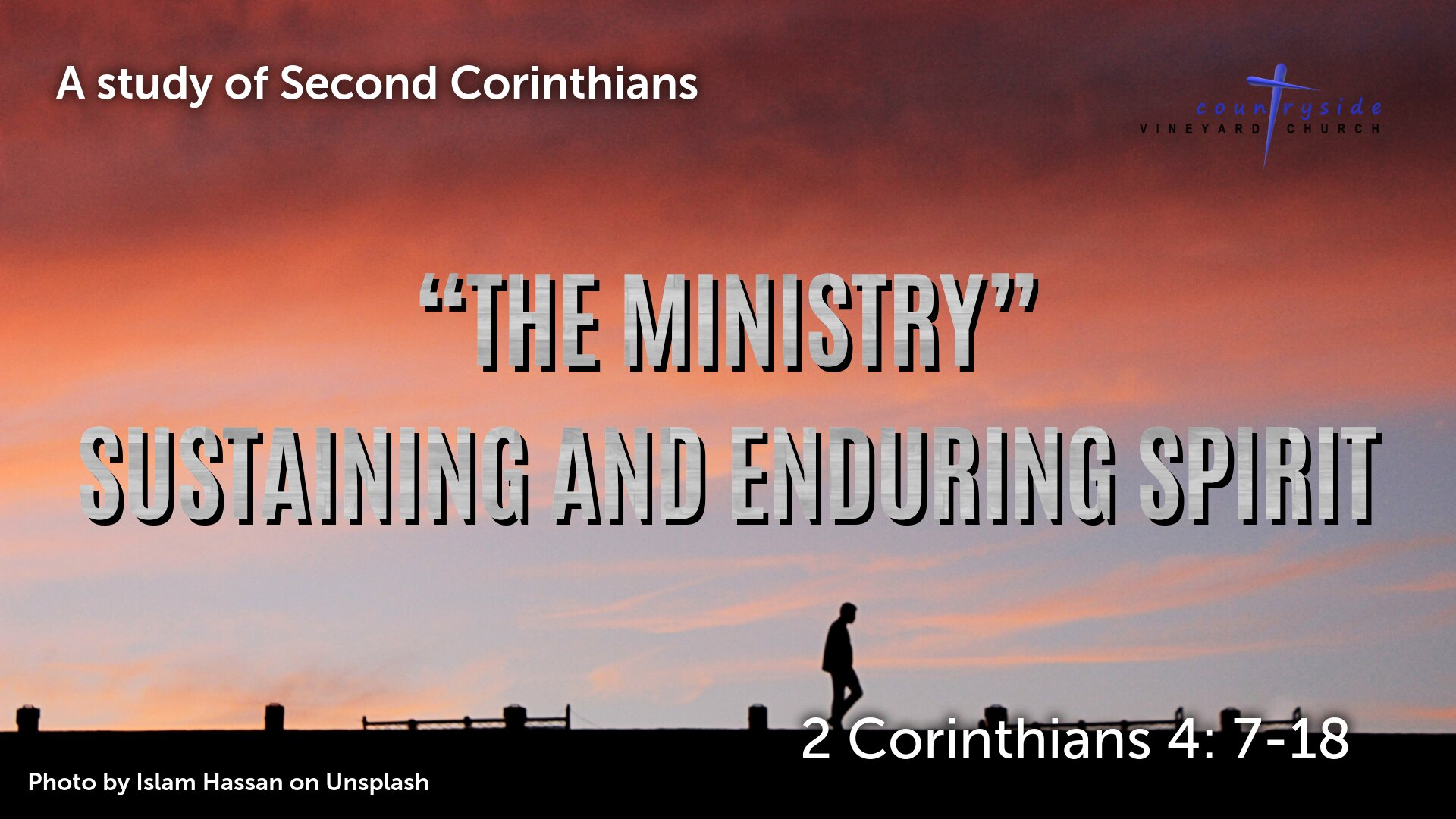 The Ministry - Sustaining and Enduring Spirit