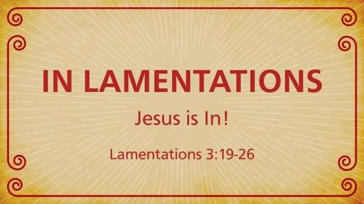 In Lamentations