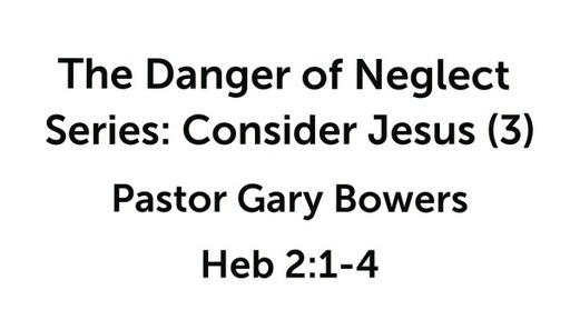Consider Jesus (3)