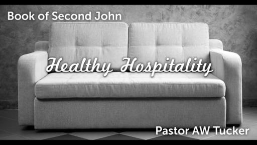 2 John: Healthy Hospitality