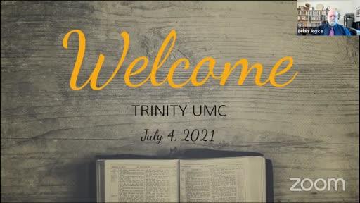 Sunday Worship — July 4, 2021
