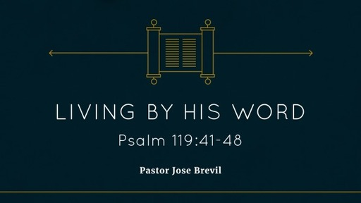 Living by His Word