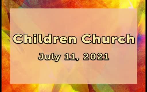 Children Church (July11.2021.)Mp4