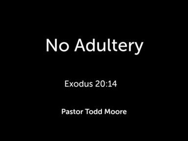 "Sunday Service ""No Adultery"""