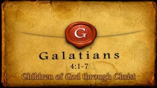 11-Children of God through Christ