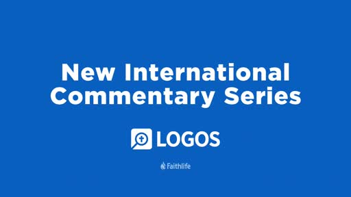 New International Commentary Series
