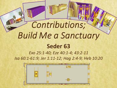 Contributions - Build Me a Sanctuary