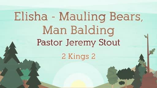Mauling Bear And Balding Men - 2 Kings 2:23-25