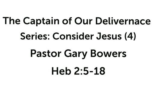 Consider Jesus (4)