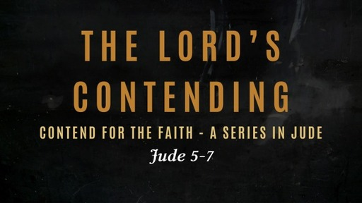 The Lord's Contending