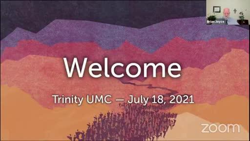 Sunday Worship — July 18, 2021