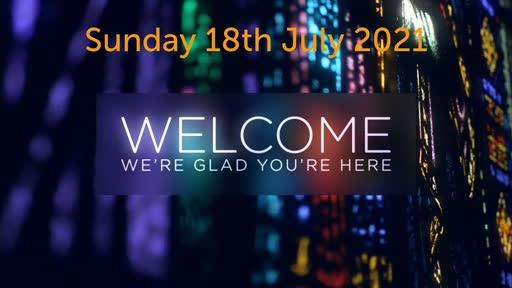 Sunday 18 July 2021