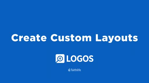 Create Custom Layouts