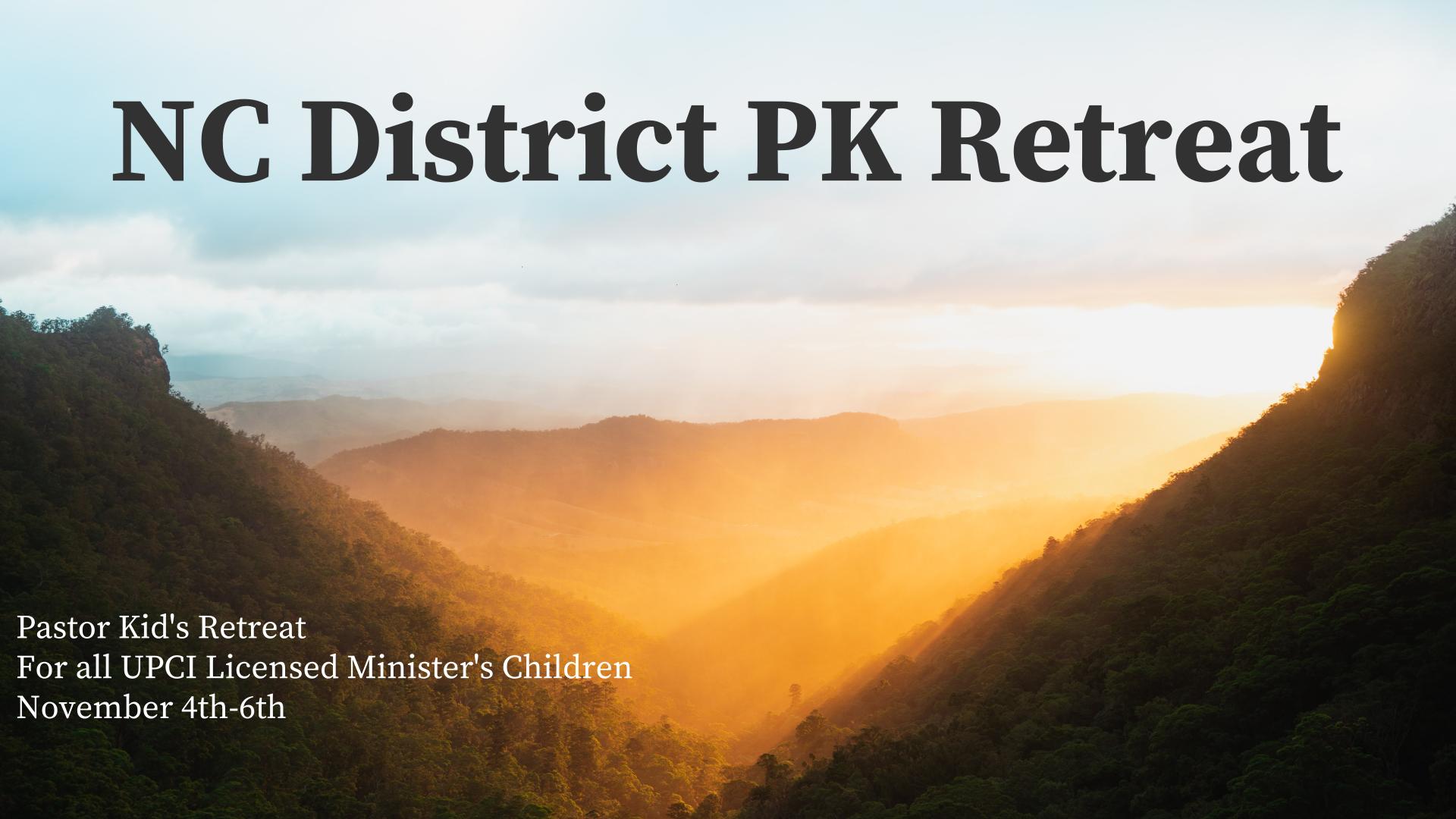 PK Retreat