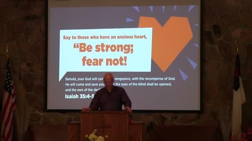 We Believe In Healing 7-25-21 Pastor Randy Hall