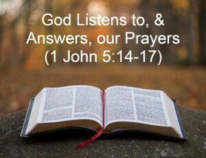 When To Pray and What To Pray